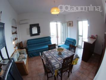 Casa Panoramica -living room with sofà bed 2/3 persons-